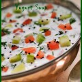 Bowl of Yoghurt Summer Soup