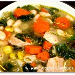 chicken bean soup 3