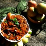 Warm Spice Raisin Pecan Apple Chutney