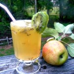 Kiwi Apple Ginger lemonade