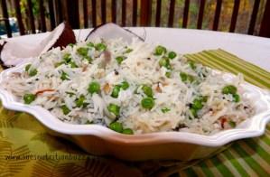 Light & Healthy Coconut Rice Pilaf