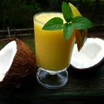 Mango Coconut Water Smoothie