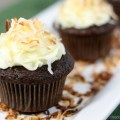 chocolate coconut cup cake