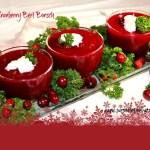 cranberry beet borsch
