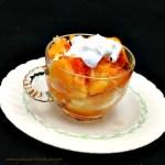broiled grapefruit with yogurt