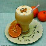 Orange Julius With Coconut Milk & Fresh Herbs
