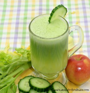 Cucumber Apple Ginger Juice