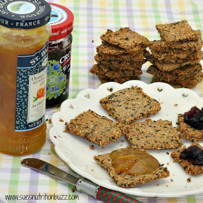 grain free sesame crackers5
