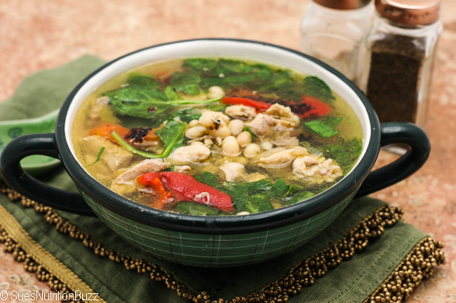 Tuscan Chicken bean soup-8826