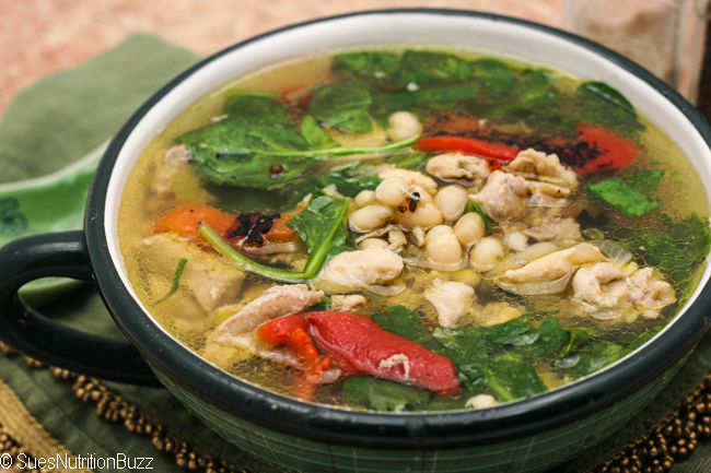 Tuscan Chicken bean soup-8827