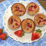 strawberry muffins-9956