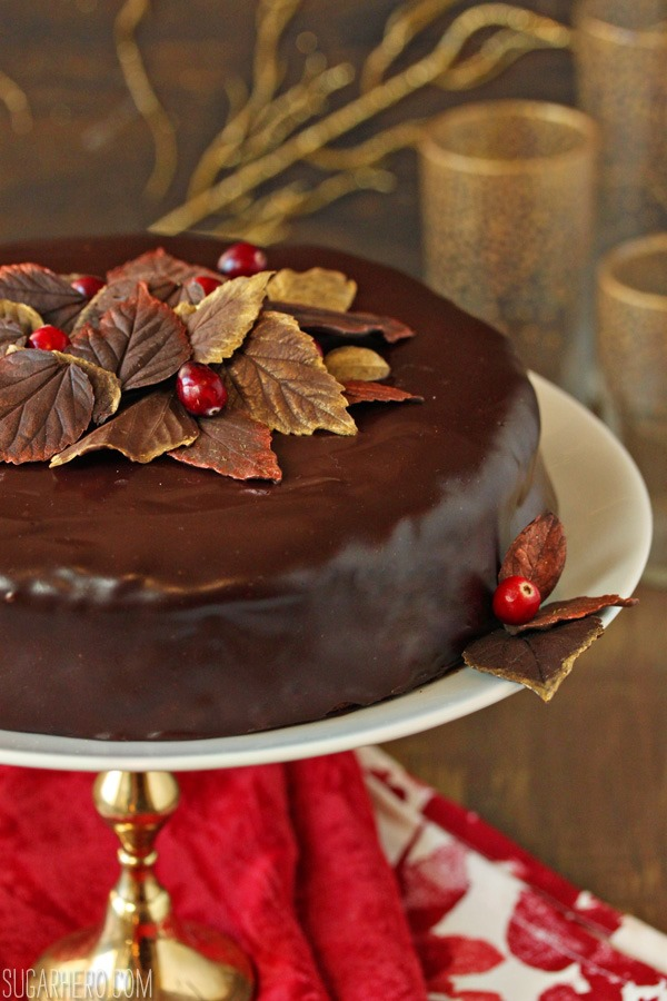cranberry-chocolate-truffle-cake-4