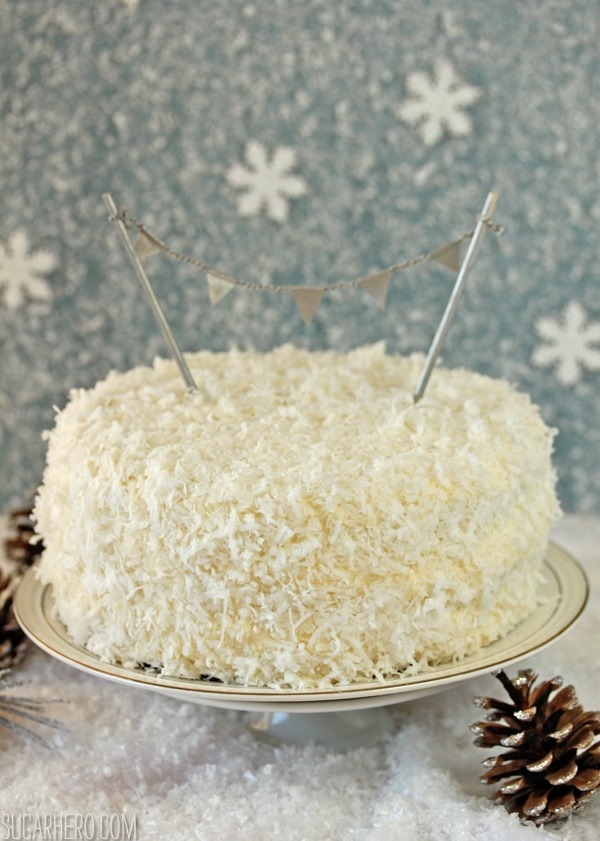 Coconut Layer Cake | SugarHero.com