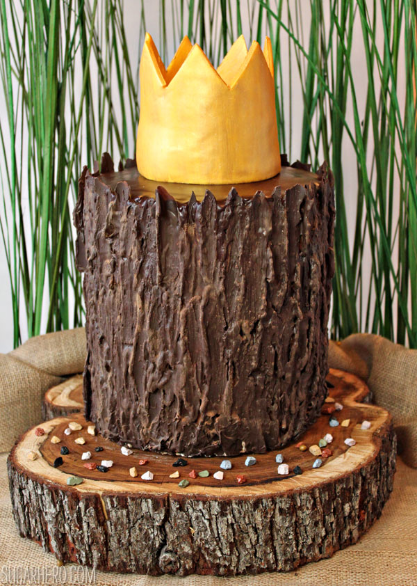 Where the Wild Things Are Birthday Cake | From SugarHero.com