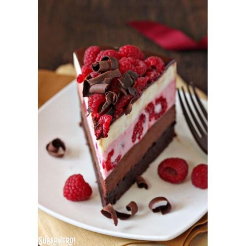 Medium Crop Of Strawberry Mousse Cake