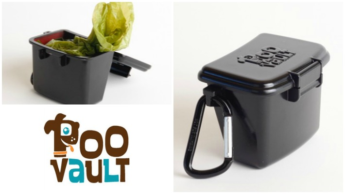 #Kickstarter Poo Vault Carries Smelly Dog Poo Bags