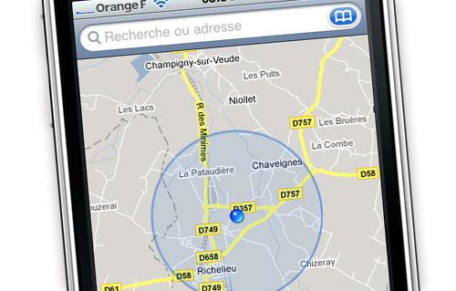 Comment fonctionne une application GPS?