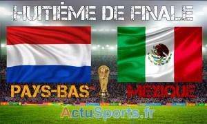 mondial  2014 pays-bas-mexique huitième