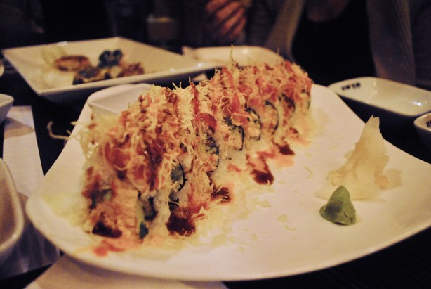 The crab and tuna roll.  Amazing.