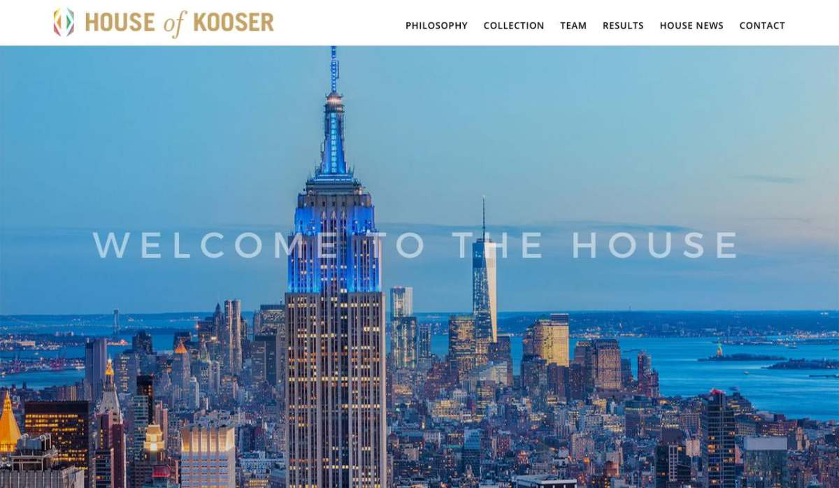Latest project: House of Kooser