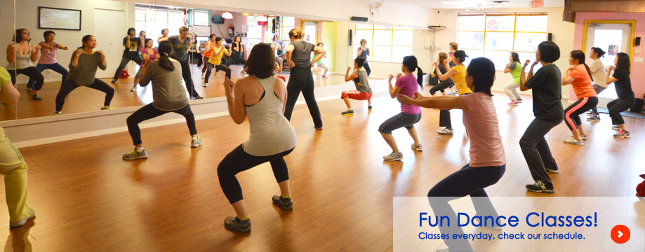 women's only dance fitness classes in Richmond