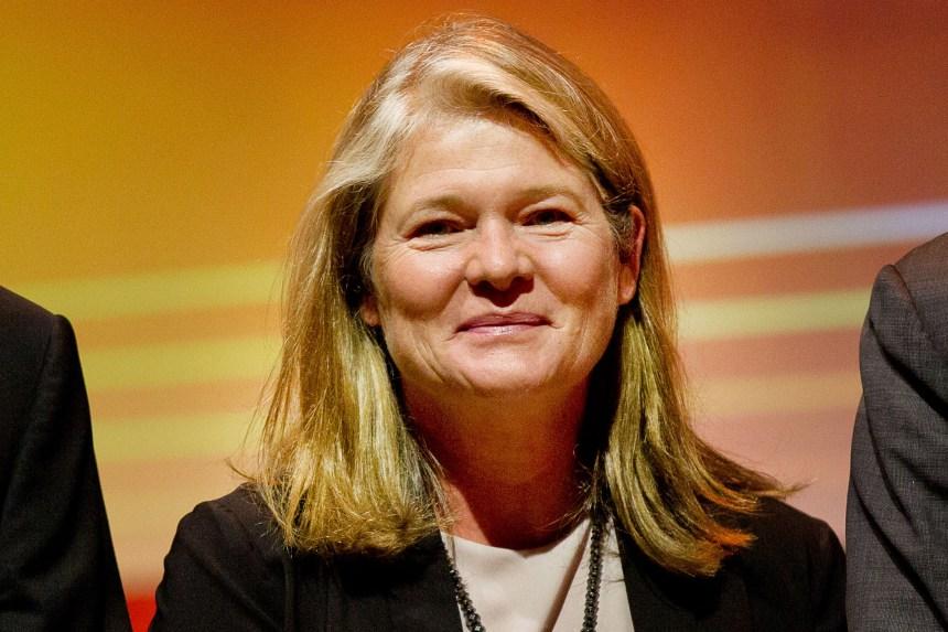 Dutch businesswoman Charlene de Carvalho-Heineken, pictured in Amsterdam, October 2, 2014.