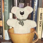Teddy Bear in a cup - SOLD