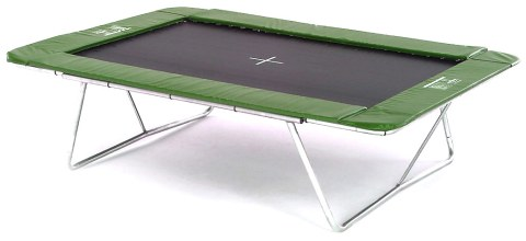 10ft11in x 8ft4in King 110 Rectangular Trampoline