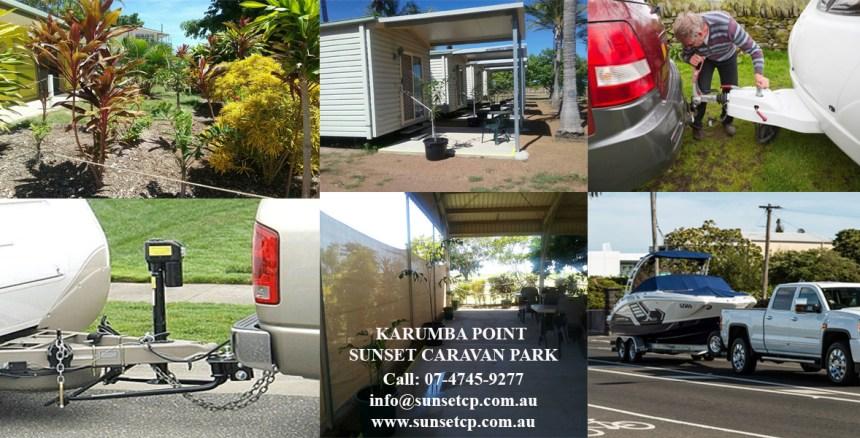Family Campervan Holidays Trip Camper Karumba Point Sunset Caravan Park