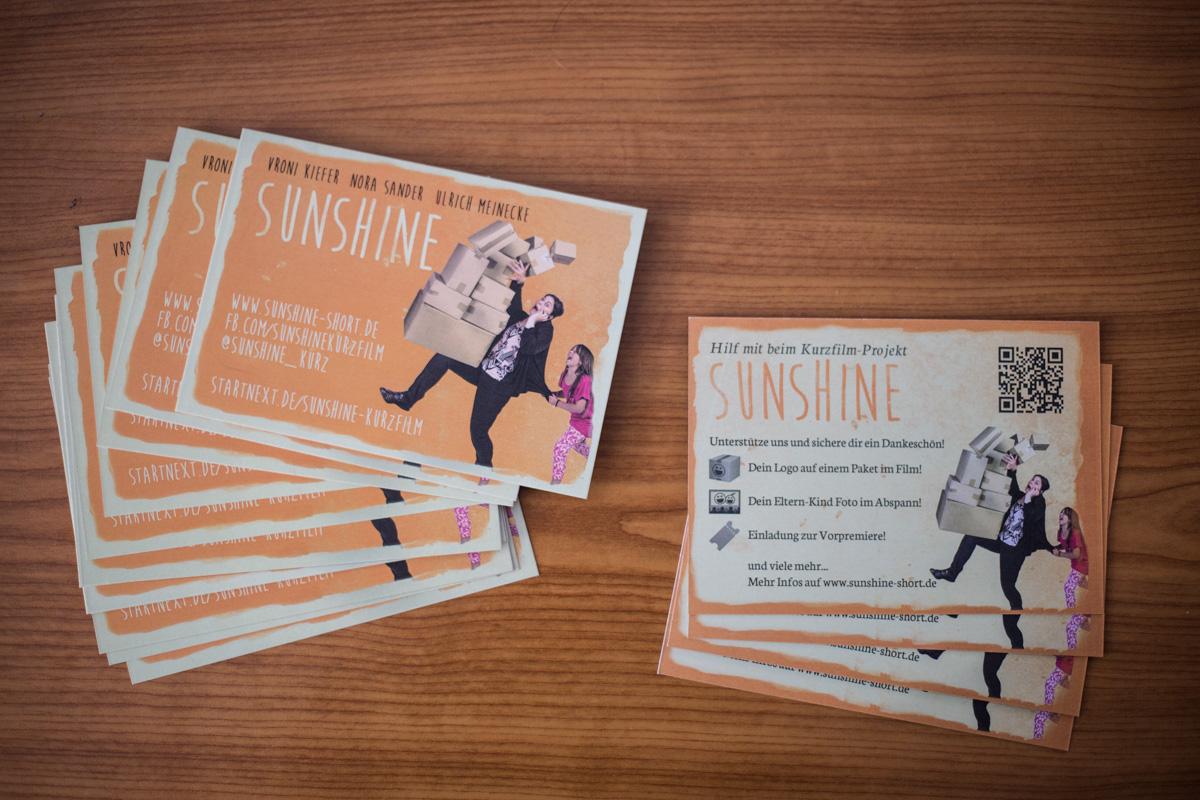 sunshine Crowdunfding Postkarten zum weitergeben!