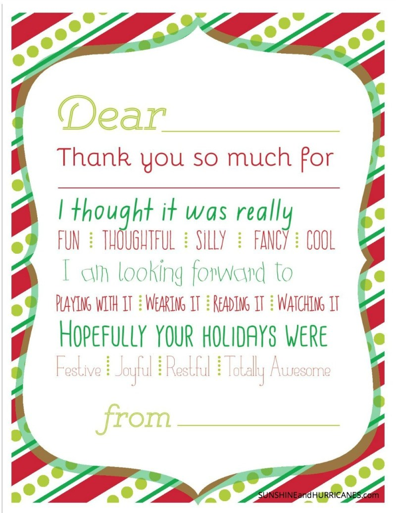 Large Of Christmas Thank You Cards