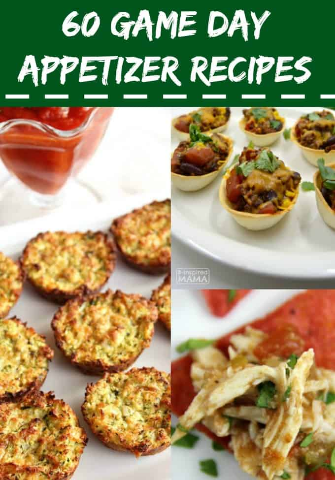 Game Day Appetizer Recipes