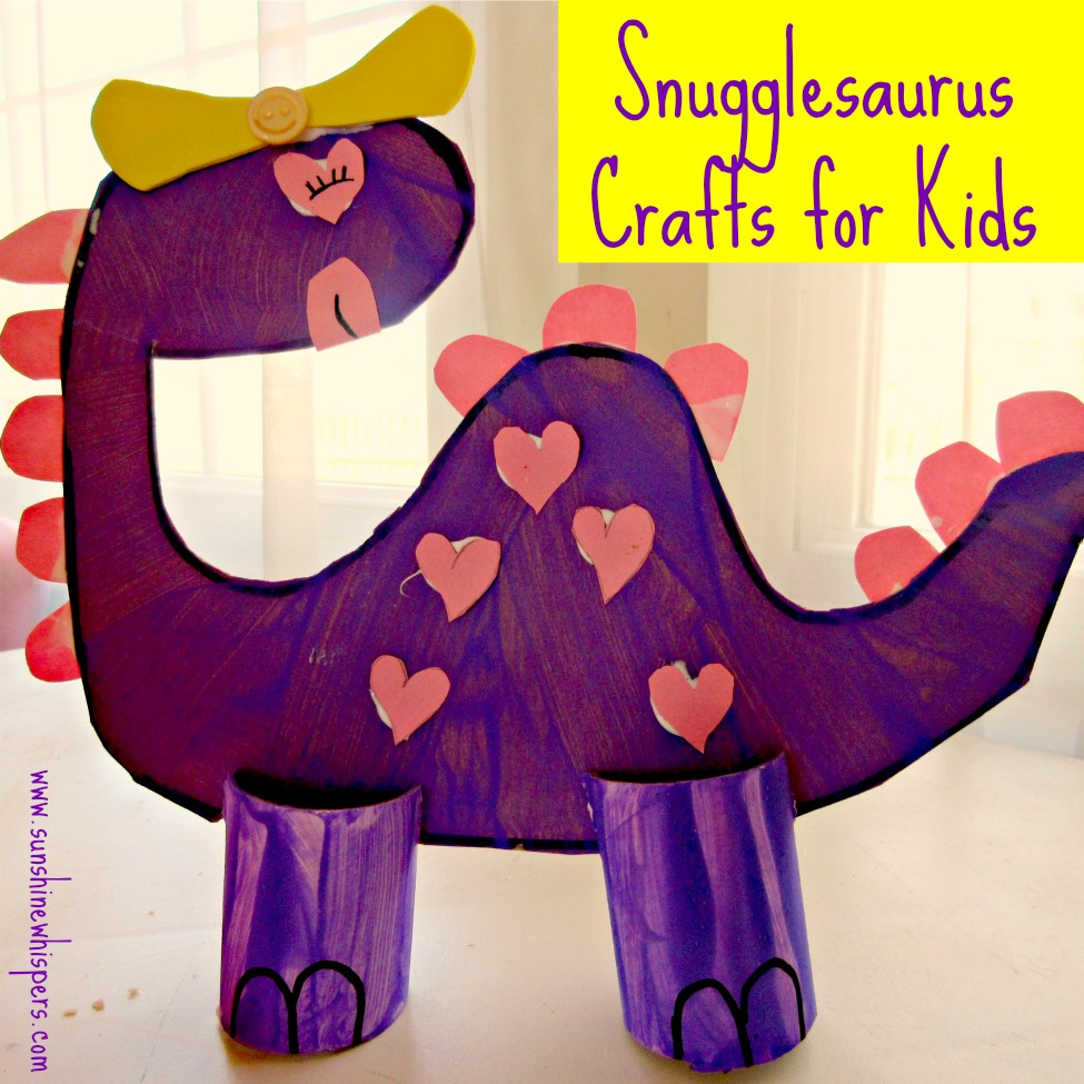 Snugglesaurus dinosaur crafts for kids for Dinosaur crafts for toddlers