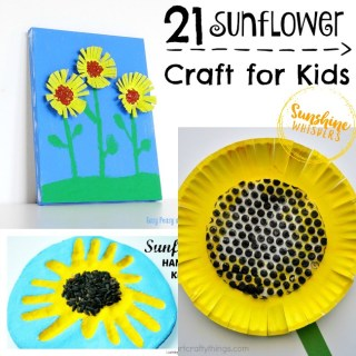 sunflower crafts for kids