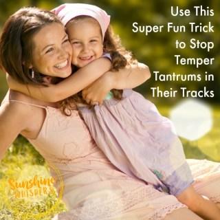stop temper tantrums