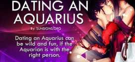 Dating An Aquarius