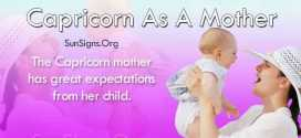 Capricorn As A Mother