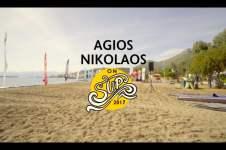 AGIOS NIKOLAOS ON SUP 2017