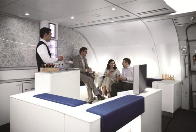 Celestial Bar aboard Korean Air's A380