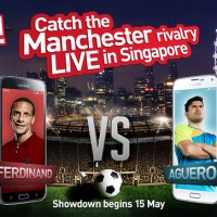 Football Stars Rio Ferdinand & Sergio Agüero Come To Singapore