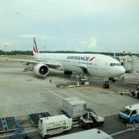 Air France Lands in Jakarta via Singapore