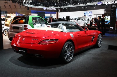 2011 Mercedes-Benz SLS AMG Roadster Gallery | | SuperCars.net