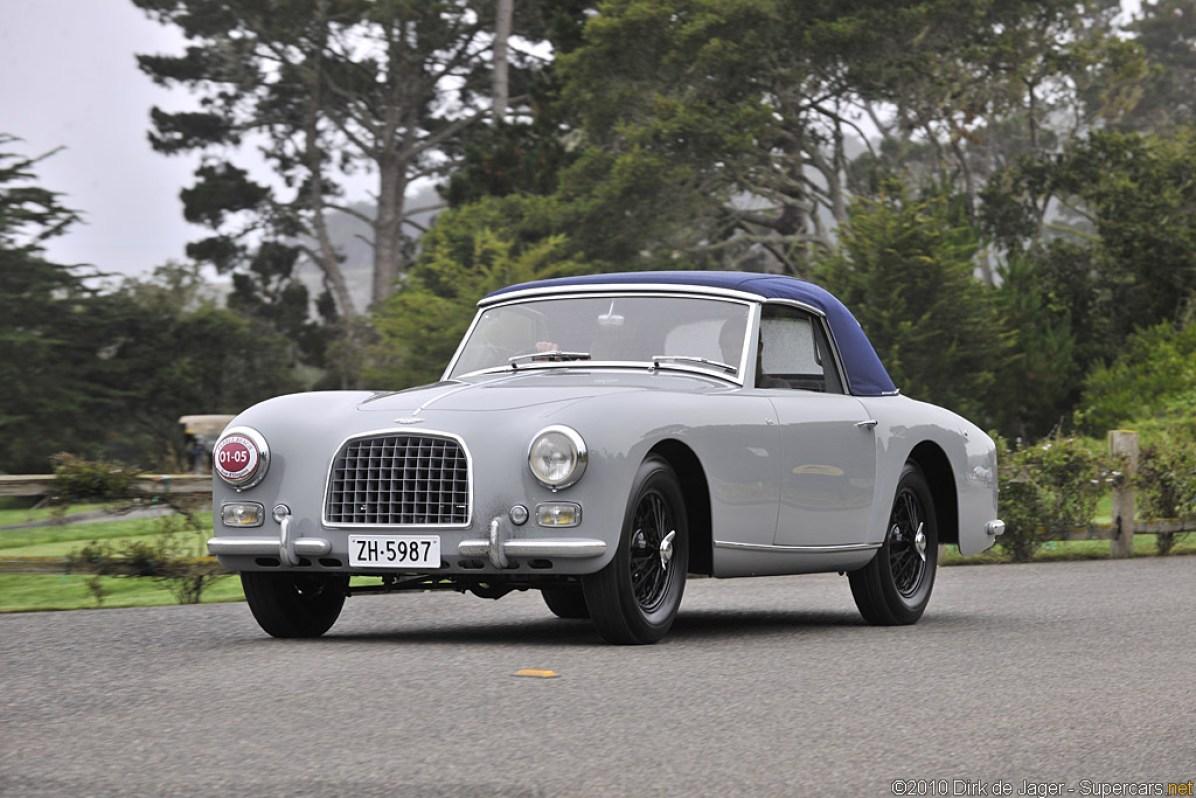 1954 Aston Martin DB2/4 Graber Drophead Coupé