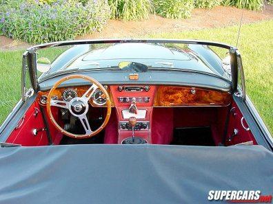 1965→1968 Austin-Healey 3000 MKIII BJ8 'Phase II'