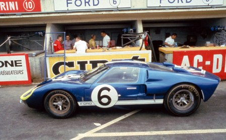 24 Hours of LeMans, LeMans, France, 1966. Mario Andretti/Lucien Bianchi Holman Moody Ford Mark II. CD#0554-3252-2890-8.