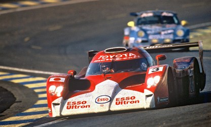 1998→1999 Toyota GT-One