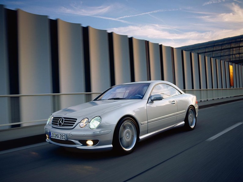 2000 Mercedes-Benz CL55 AMG F1