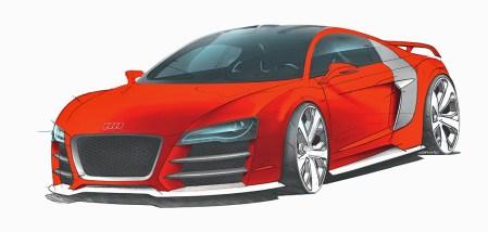 2008 Audi R8 V12 TDI Le Mans