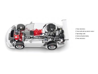 2010 Porsche 911 GT3 R Hybrid
