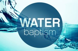Why Is It So Hard To Find A Lesson On Water Baptism?